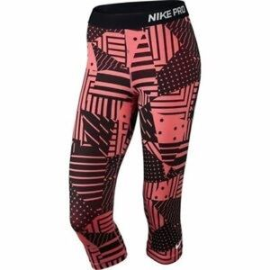 Nike Pro Patchwork Capri Compression Pants